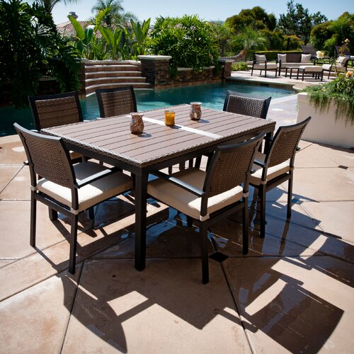 download image outdoor patio 7 piece dining set pc android iphone
