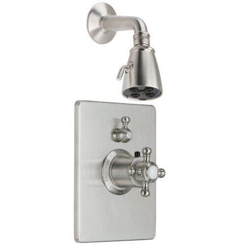 California Faucets Venice StyleTherm Volume Control Shower Trim