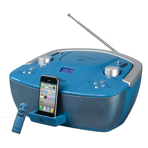 Hamilton Electronics Val-U-Pak iPod/CD/SD/USB/MP3 Listening Center, 6 station, Leatherette Headphones