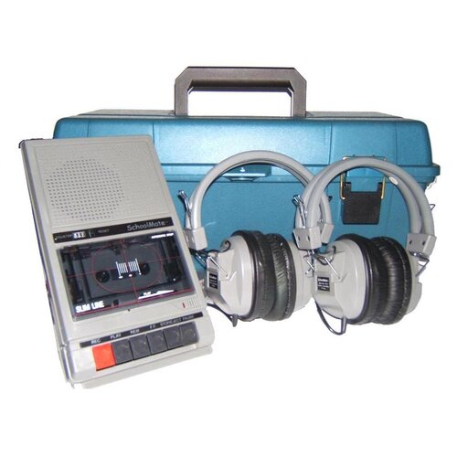 Hamilton Electronics LCP Early Learning Listening Center with Two HA-5 Headphones