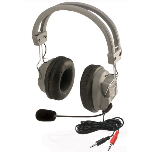 Hamilton Electronics Stereo Headphone with Built-In Boom Microphone