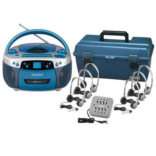 Hamilton Electronics CD / USB / MP3 Listening Center with MS2L Personal Headphones