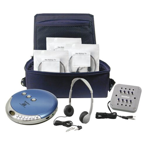 Hamilton Electronics Ultra Portable CD Listening Center