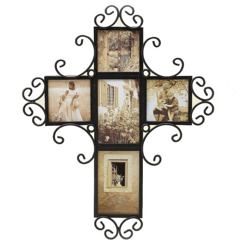 Fetco Home Decor Brinley Wall Art ~ Fetco home decor tuscan alton five opening wall collage