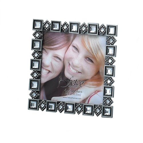 Fetco Home Decor Fashion Metals Chaplin Square Picture Frame