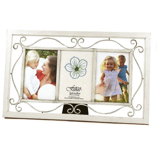 Fetco Home Decor Perfect Past Times Marshfield Triple Picture Frame