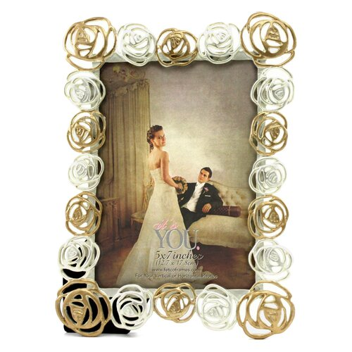 Fetco Home Decor Kate Flora Picture Frame