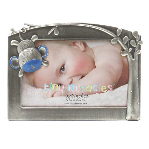 Fetco Home Decor Tiny Miracles Moxie Monkey Photo Frame