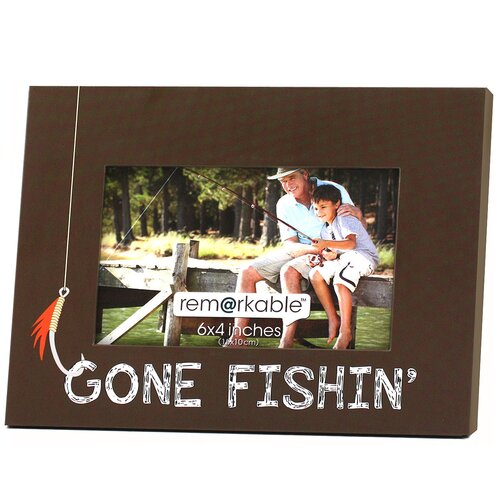 Expressions Gone Fishin' Photo Frame