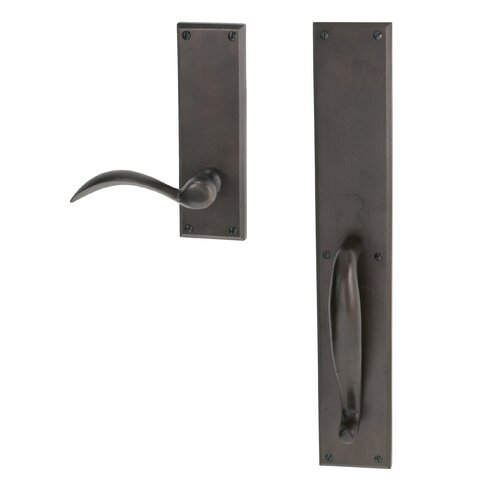 Hamilton Sinkler Entry Set Front Door Handle with Cleveland Lever