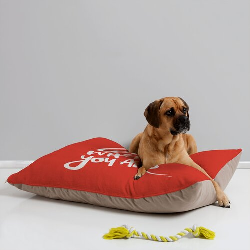 Kal Barteski Love Red Pet Bed
