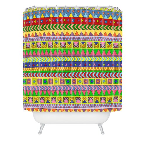 DENY Designs Bianca Woven Polyester Forever Young Shower Curtain