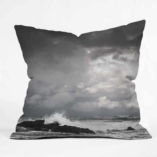 Bird Wanna Whistle Water Indoor/Outdoor Polyester Throw Pillow