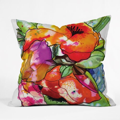 DENY Designs CayenaBlanca Big 2 Polyester Throw Pillow