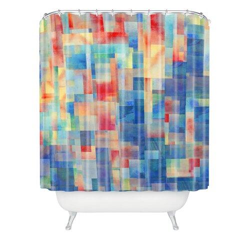 DENY Designs Jacqueline Maldonado Woven Polyester Torrentremix Shower Curtain