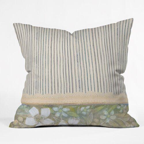 Cori Dantini Stripes Woven Polyester Throw Pillow