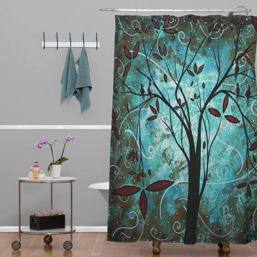 DENY Designs Madart Inc. Polyester Romantic Evening Shower Curtain