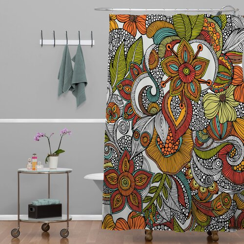 DENY Designs Valentina Ramos Polyester Shower Curtain