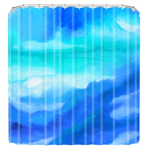 DENY Designs Jacqueline Maldonado Woven Polyester Rise 2 Shower Curtain