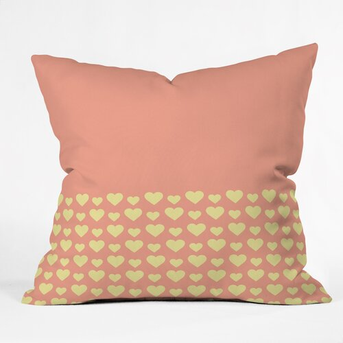 Allyson Johnson Summer Love Outdoor Throw Pillow