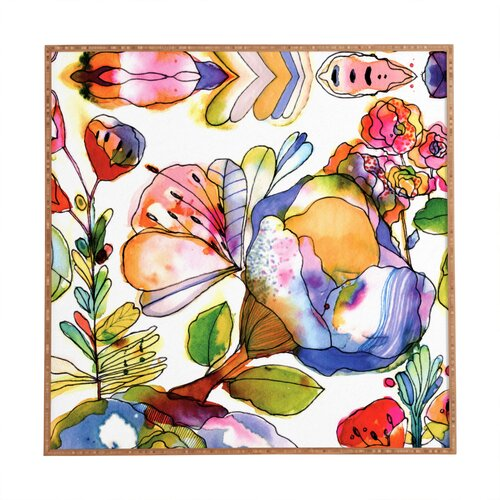 Blossom Pastel by CayenaBlanca Framed Graphic Art Plaque