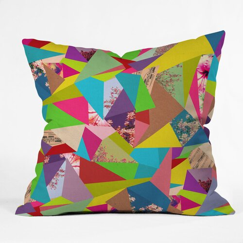 Bianca Green Thoughts Woven Polyester Throw Pillow