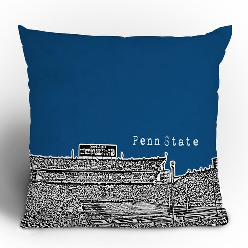 DENY Designs Bird Ave Penn State University Woven Polyester Throw Pillow