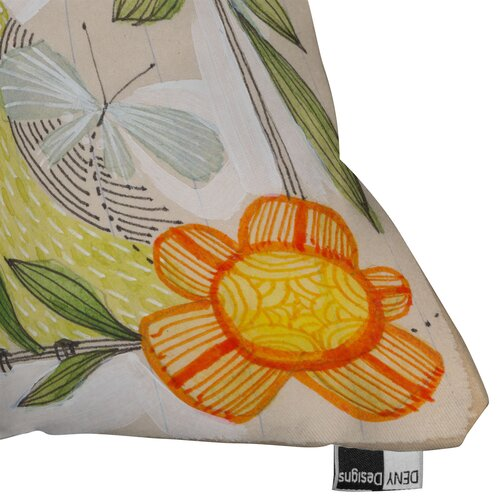 DENY Designs Cori Dantini Fine Comanions Woven Polyester Throw Pillow