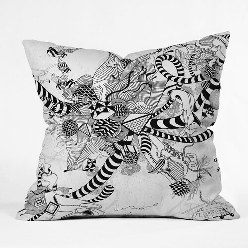DENY Designs Iveta Abolina Play Indoor / Outdoor Polyester Throw Pillow