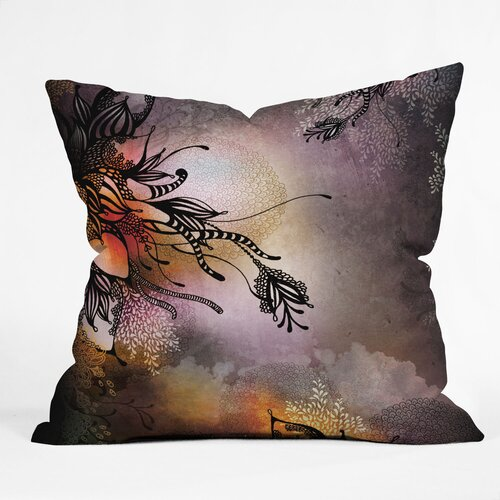 DENY Designs Iveta Abolina Rain Indoor / Outdoor Polyester Throw Pillow