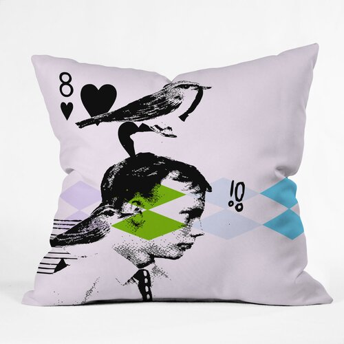 DENY Designs Randi Antonsen Poster Hero 2 Woven Polyester Throw Pillow