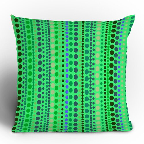 DENY Designs Romi Vega Retro Polyester Throw Pillow