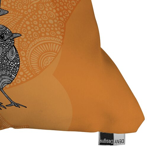 DENY Designs Valentina Ramos 3 Little Birds Indoor/Outdoor Polyester Throw Pillow