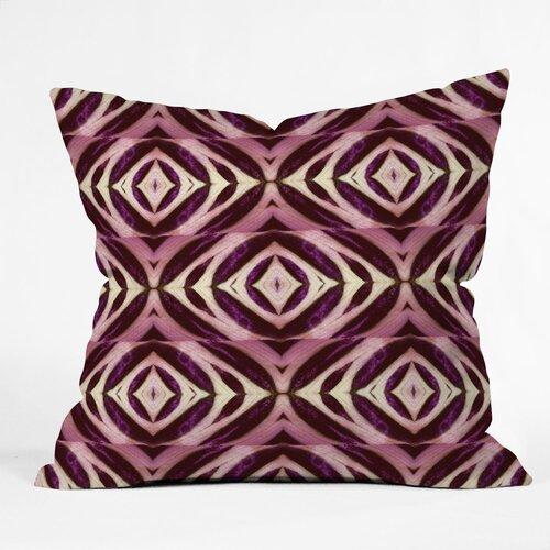 DENY Designs Wagner Campelo Calathea Indoor/Outdoor Polyester Throw Pillow