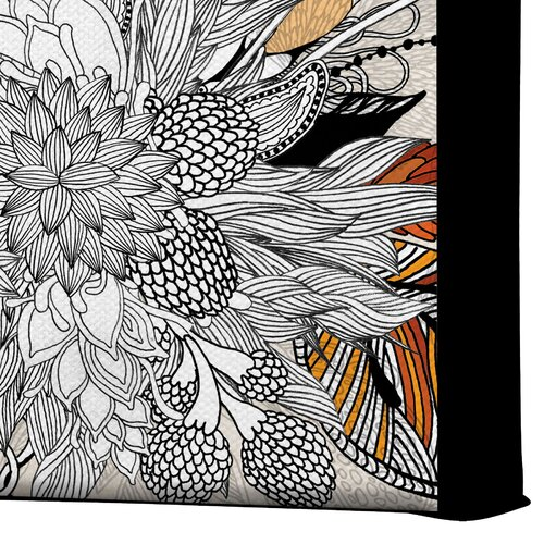 DENY Designs Floral 2 by Iveta Abolina Graphic Art on Canvas