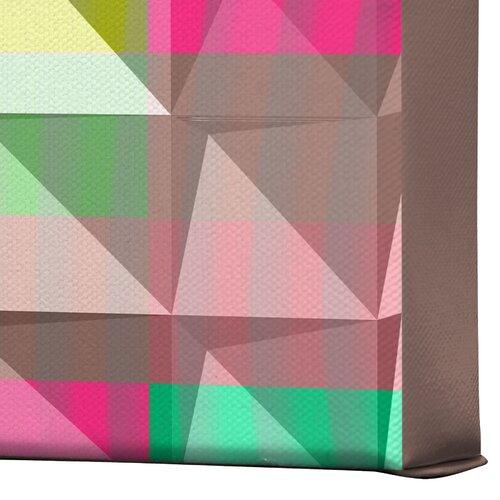 DENY Designs Pyramid Scheme by Jacqueline Maldonado Graphic Art on Canvas