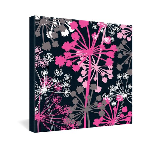 DENY Designs Cow Parsley by Rachael Taylor Graphic Art on Canvas