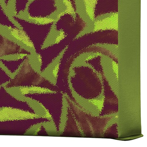 DENY Designs Abstract Garden 2 by Wagner Campelo Graphic Art on Canvas