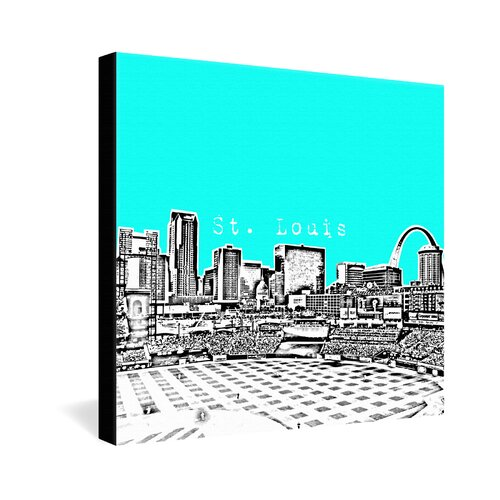 DENY Designs St. Louis by Bird Ave. Graphic Art on Canvas
