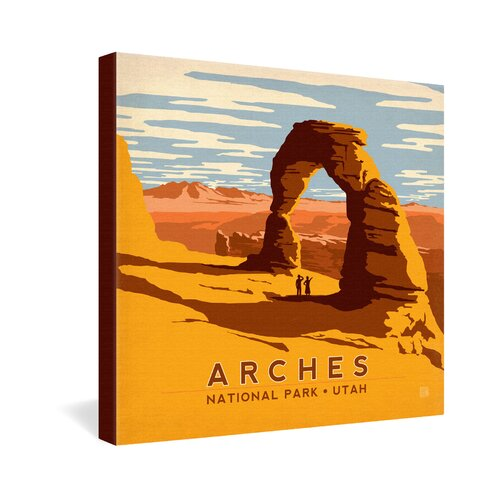 Arches by Anderson Design Group Vintage Advertisement on Canvas