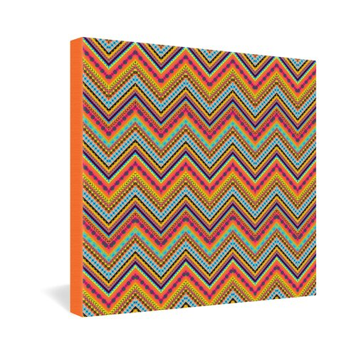 DENY Designs Tribal Chevron by Amy Sia Graphic Art on Canvas