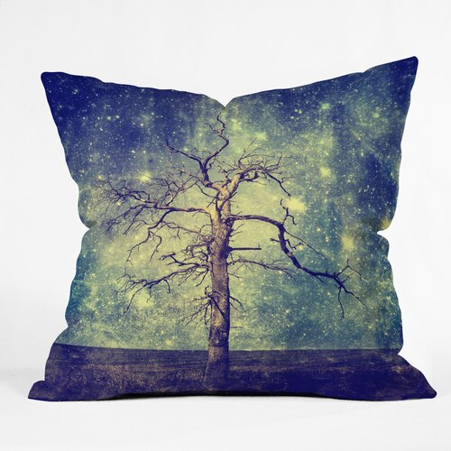 DENY Designs Belle13 As Old as Time Woven Polyester Throw Pillow