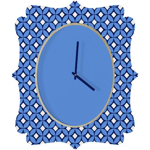 DENY Designs Caroline Okun Blueberry Wall Clock