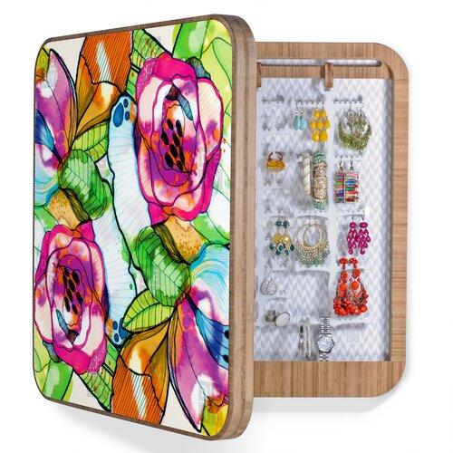 DENY Designs CayenaBlanca Fantasy Garden Jewelry Box