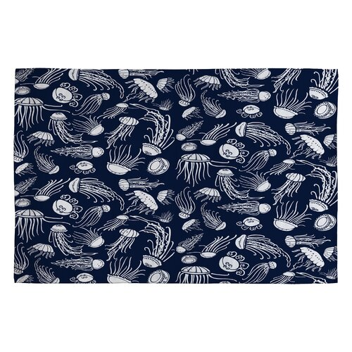 Jennifer Denty Jellyfish Novelty Rug