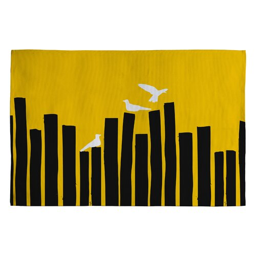 DENY Designs Budi Kwan on The Fence Novelty Rug
