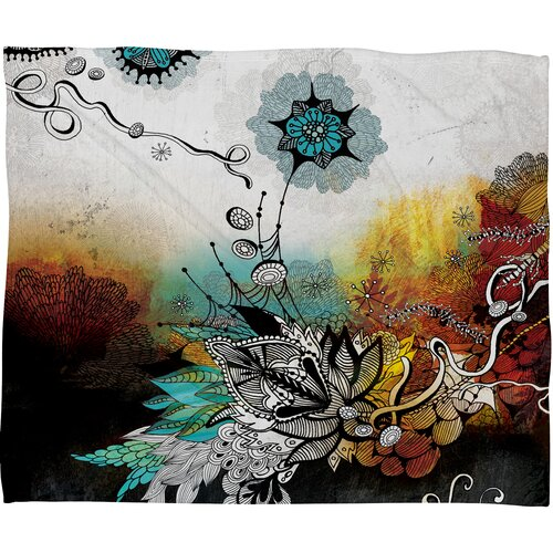 DENY Designs Iveta Abolina Frozen Dreams Polyester Fleece Throw Blanket