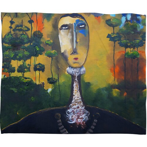 DENY Designs Robin Faye Gates forest for Trees Polyester Fleece Throw Blanket