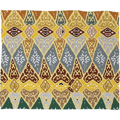 DENY Designs Romi Vega Diamond Tile Polyester Fleece Throw Blanket