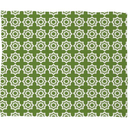 DENY Designs Khristian A Howell Moroccan Mirage Polyester Fleece Throw Blanket